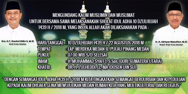 Sholat Idul Adha 1439 H