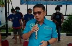 BNN Ciduk Pecatan Polri Seludupkan Narkoba dari Pekanbaru ke Medan